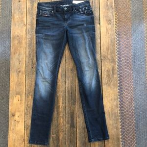 Diesel Super Skinny Low Waisted Jeans - Size 26